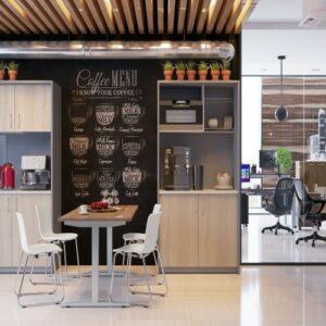Кухня в офисе в Калининграде